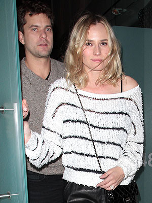 Are Diane Kruger and Joshua Jackson Engaged? | Diane Kruger, Joshua Jackson