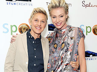 WATCH: Ellen DeGeneres Surprises Portia de Rossi with Revved-Up Holiday Gift