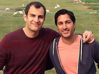 30 Rock's Maulik Pancholy Gets Engaged – at the Taj Mahal!