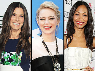 Sandra Bullock, Emma Stone & Zoë Saldana to Present at Golden Globes | Golden Globes, Emma Stone, Sandra Bullock, Zoe Saldana