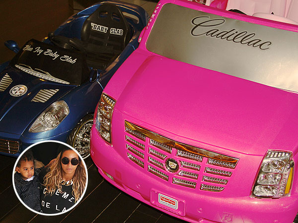 Beyoncé Shows Off Blue Ivy's Swanky Mini-Cars: Check Out Her Wheels! | Beyonce, Blue Ivy Carter