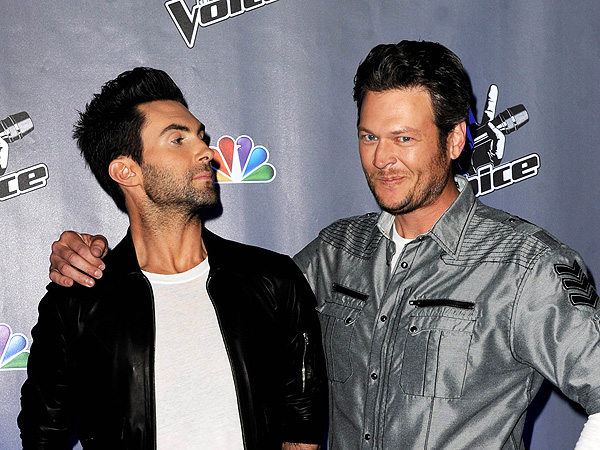 The Voice's Adam Levine Steals a Country Singer from Blake Shelton | Adam Levine, Blake Shelton
