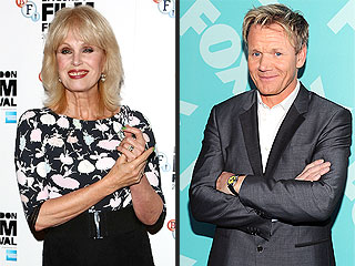 What Is Gordon Ramsay Cooking Up with Ab Fab's Joanna Lumley?