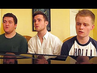 Watch: Three Irish Gents Remix Friends Theme Into Soaring Pop Ballad