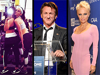 A Bootylicious Selfie Photobomb, Sean Penn's PDA-Filled Gala & More from the Weekend