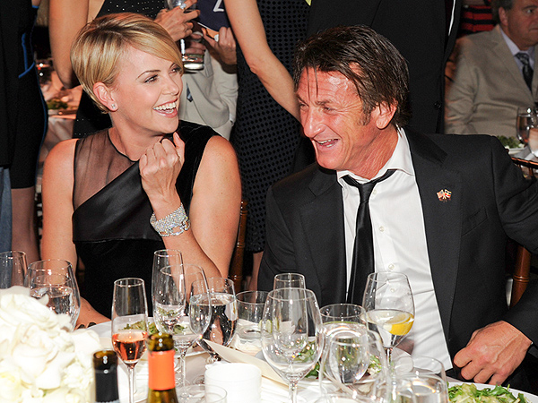 Sean Penn and Charlize Theron Are 'All Over Each Other' During a Night Out