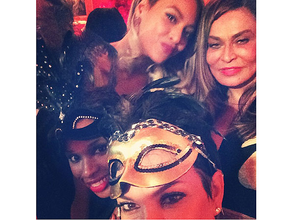 PHOTO: See Kris Jenner's Star-Studded Selfie from Tina Knowles's B'day Bash