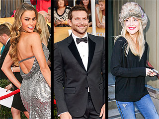 Bradley's Hot Date, the Only SAG Candids You Need to See & More from the Weekend