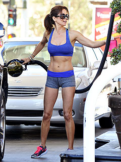 Brooke Burke-Charvet on That Sexy Gas-Pumping Photo: 'It Could Hav