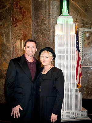 Hugh Jackman Lights Empire State Building for Australia Day