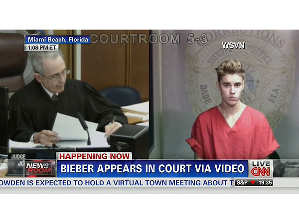 Justin Bieber Released Following DUI Arrest, Waves to Fans from Top of SUV| Crime & Courts, DUIs, Miami, Justin Bieber