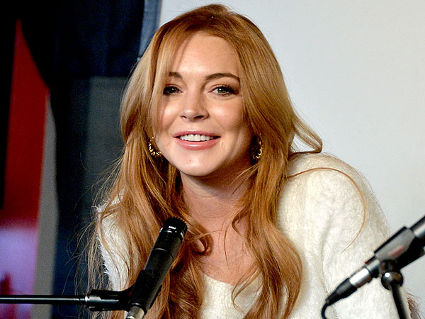 Lindsay Lohan Talks About Her New Movie at Sundance