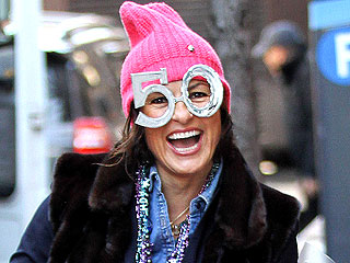 Mariska Hargitay Lets Her Silly Shades Do the Talkin': She's 50 and Fabulous!