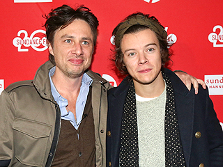 Harry Styles Supports Pal Zach Braff at Sundance