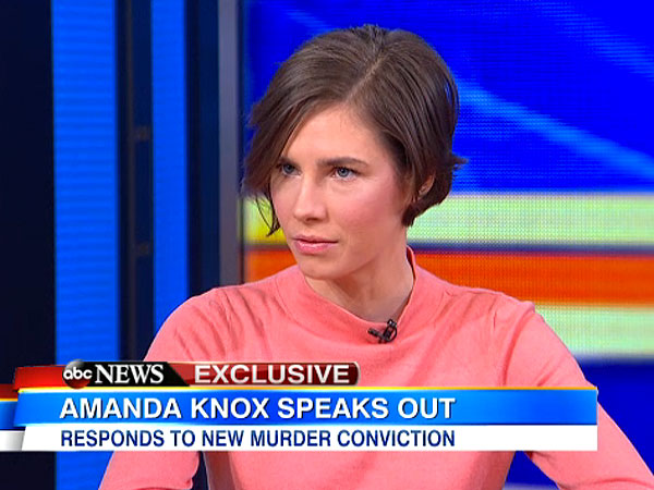 Amanda Knox: 'I Will Never Go Willingly Back' to Italy