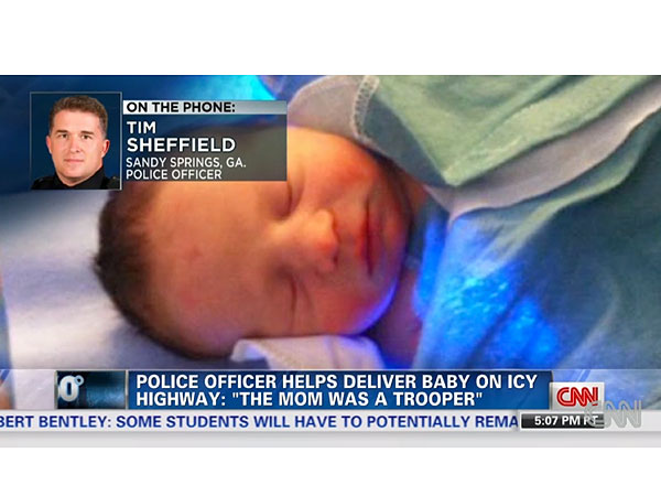 Meet the Baby Born on Gridlocked Highway During Atlanta Storm
