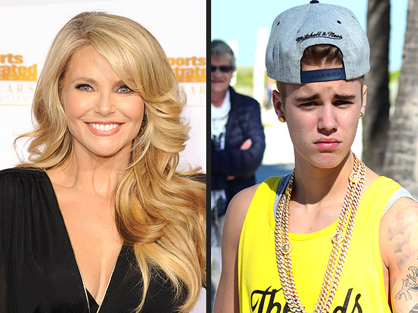 Christie Brinkley and Justin Bieber Get PEOPLE Readers' Pulses Racing | Christie Brinkley, Justin Bieber