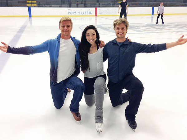 Derek Hough Choreographs Olympic Ice-Dancing Routine| Winter Olympics 2014, Derek Hough, Meryl Davis