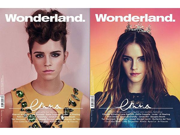Which Emma Watson Do You Prefer: 'Afro Prada Bruiser' or 'Elf Alien Queen'?