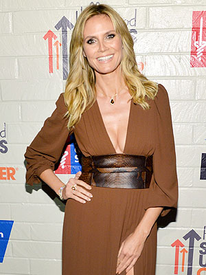 Being Single Agrees with Her: Heidi Klum Sparkles at Charity Event | Heidi Klum