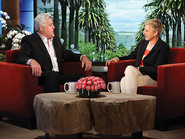 Jay Leno on Leaving The Tonight Show: 'I Can Go Out on a School Night' | The Ellen DeGeneres Show, Ellen DeGeneres, Jay Leno