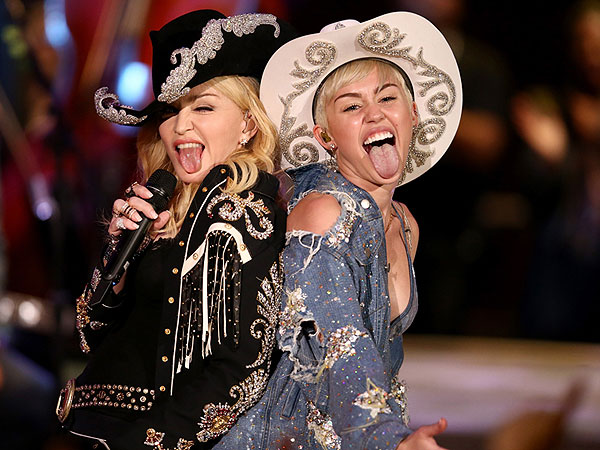 Madonna & Miley Cyrus: Behind the Bump-and-Grind at Unplugged