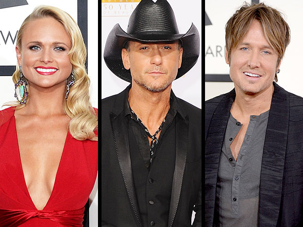 Tim McGraw, Miranda Lambert Lead Academy of Country Music Awards Noms