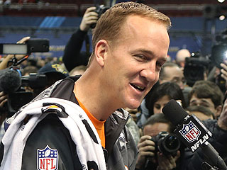 What's Peyton Manning's Super Bowl Good Luck Charm? (Hint: Sweet Answer!)