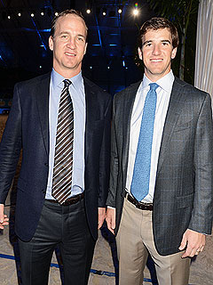 Eli Manning Cheers On Brother Peyton at Super Bowl: 'We Support Each Other'