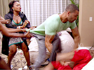 Real Housewives of Atlanta: A Fun Party Turns into a Violent Fight