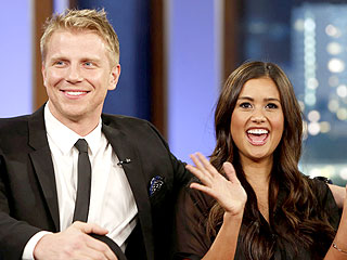 Jimmy Kimmel Grills Sean Lowe and Catherine Giudici on Abstinence Claims