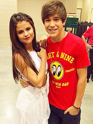Austin Mahone Says He's Not Dating Selena Gomez