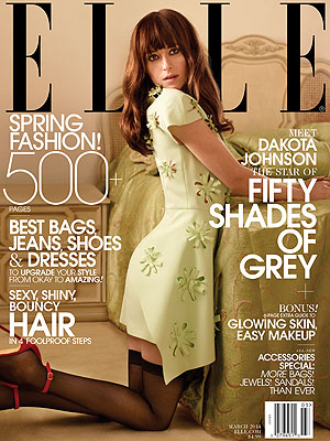 Dakota Johnson Elle Magazine