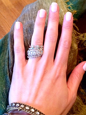 Emily Maynard Went for Nontraditional Engagement Ring(s)| Engagements, The Bachelorette, Brad Womack, Emily Maynard, Jef Holm