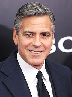 George Clooney Monuments of Men premiere