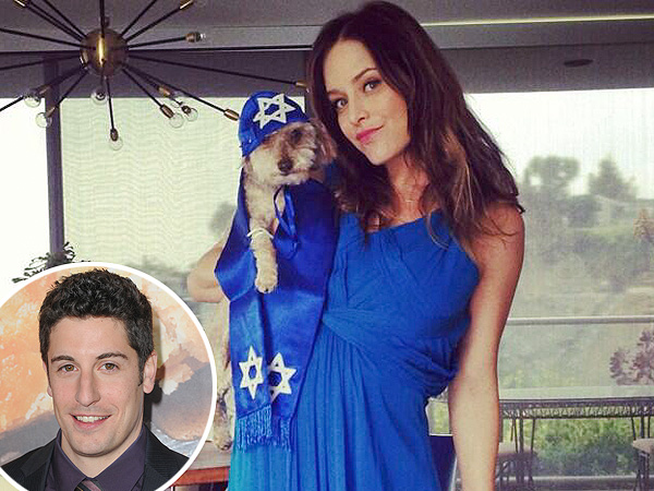 Jason Biggs and Wife Have a 'Barkmitzvah' for Their Pup (PHOTOS)