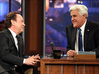 Jay Leno Bids Tearful Goodbye to Tonight Show After 22 Years | Billy Crystal, Jay Leno