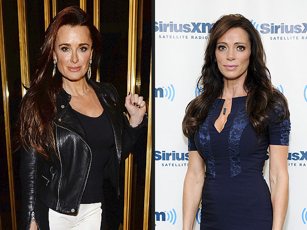 Real Housewives of Beverly Hills's Kyle Richards Talks Carlton Gebbia Rivalry