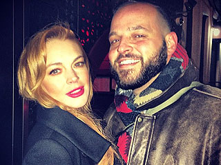 It's a Mean Girls Reunion! Lindsay Lohan & Daniel Franzese Hang in N.Y.C.