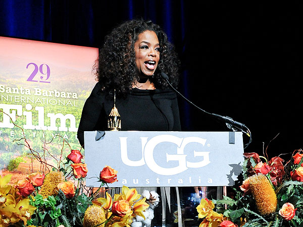 Oprah, at 60, Feels Fortunate, 'Chilled' and 'Through with the Bull–&#821