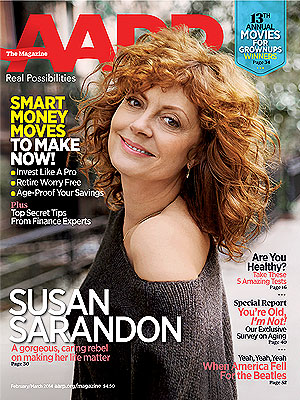 Susan Sarandon Hints at Relationship with Jonathan Bricklin | AARP, Susan Sarandon