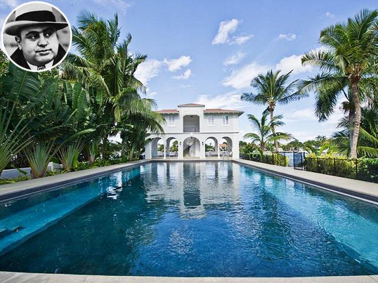 Mansions For Sale in Miami Beach His Mansion in Miami Beach