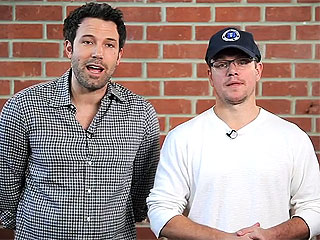 Win a Double-Date with Ben Affleck and Matt Damon – If You Can Stand Them (VIDEO)