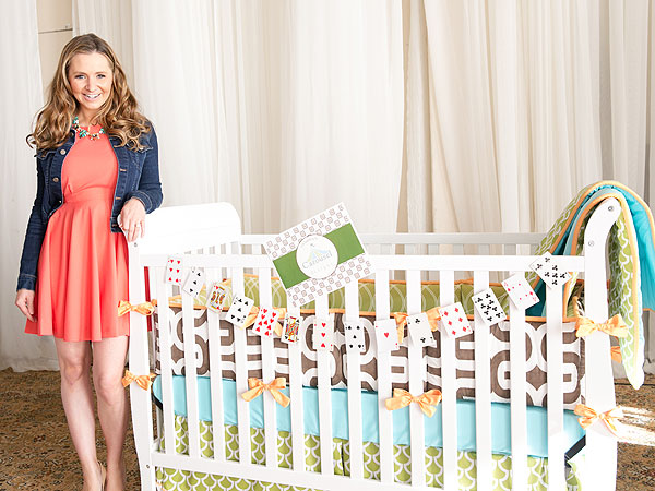 Beverley Mitchell Operation Shower Birdies for the Brave