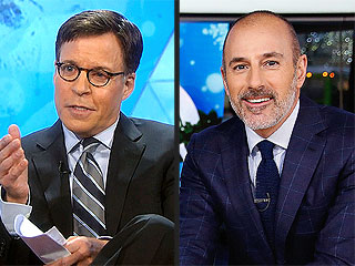 Red Alert! Matt Lauer Filling In for Eye-Infected Bob Costas | Bob Costas, Matt Lauer