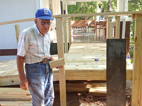 Heroes Among Us: Kansas Man Builds Wheelchair Ramps for the Disabled