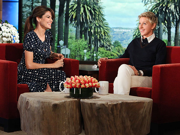 Eva Mendes Talks Pregnancy Rumors to Ellen DeGeneres