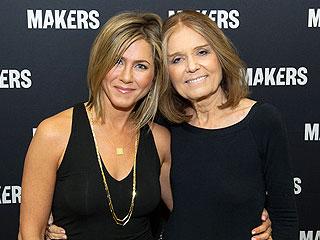 Gloria Steinem Defends Jennifer Aniston Amid Brad Pitt and Angelina Jolie Divorce: 'Enough Already' | Gloria Steinem, Jennifer Aniston