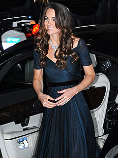 PHOTO: The Duchess Dazzles in the Queen's Diamonds | Kate Middleton