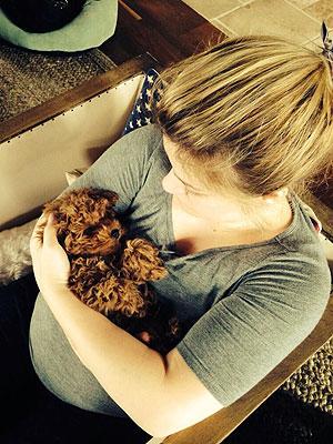 Kelly Clarkson Twitter: New Dog Wyatt Photo